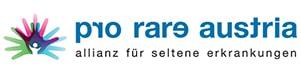 Logo der Allianz für seltene Erkrankungen Pro Rare Austria | Partner von Infusion@home